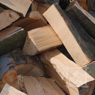 Buk to popularne drewno kominkowe