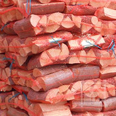 export drewna kominkowego w workach